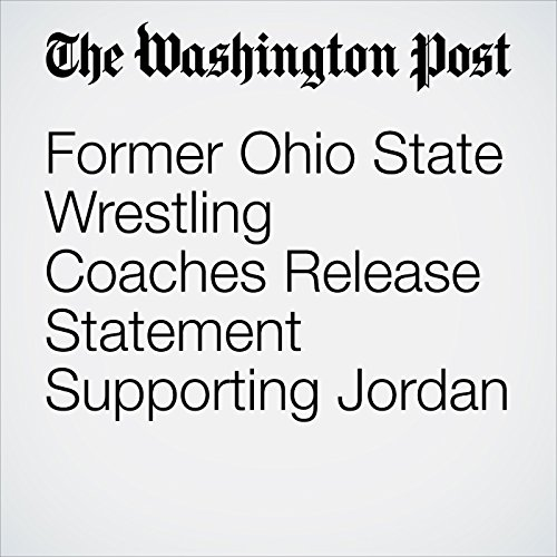 Former Ohio State Wrestling Coaches Release Statement Supporting Jordan copertina