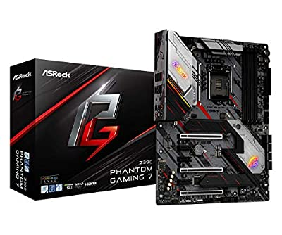 ASRock Intel Z390 Chipset Motherboard, Z390 Phantom Gaming 7