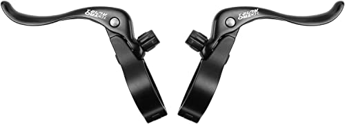 Black Alloy Brake Lever Set Top Mount  Clamp ID 23.8mm  Bicycle Bike