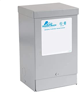 Hubbell Acme Low Voltage Distribution Transformer - Single Phase, 240-120/240V, 1.5kVA, Autotransformer
