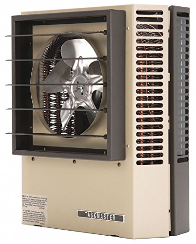Markel Products Electric Unit Heater, Wall or Ceiling, 208/240VAC, 5.0/3.7 kW, 1/3 Phase