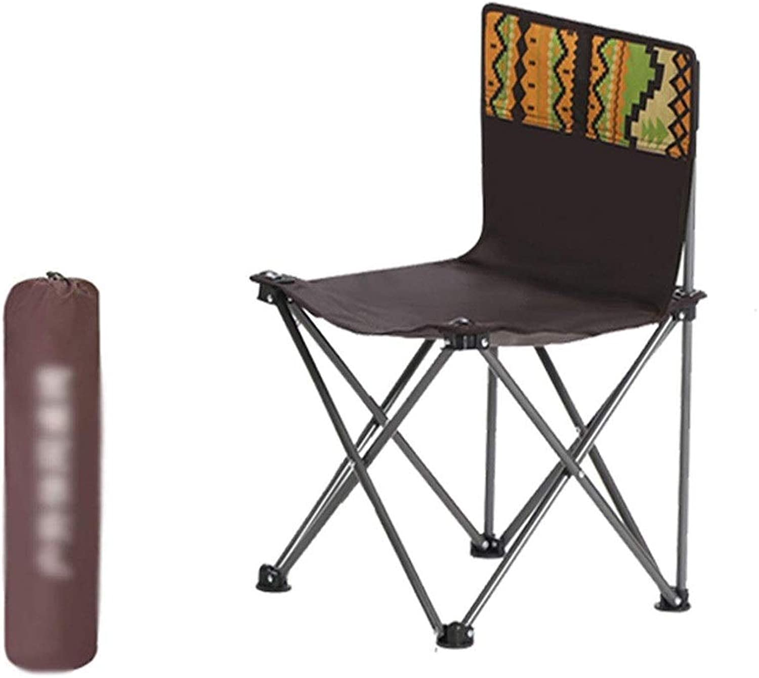 Outdoor Folding Chair Camping Chair  Outdoor Folding Chair Small Portable Camp Beach Chair Fishing Chair Stool Painting Train Stool Outdoor Folding Table and Chair Set