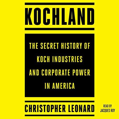 Kochland audiobook cover art