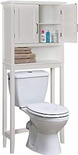 BAKAJI Mobile Bagno sopra Water WC Armadietto Salvaspazio Le