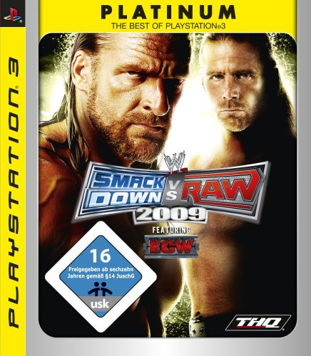 WWE Smackdown vs Raw 2009 - platinum [import allemand]