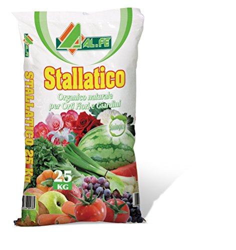 ALFE CONCIME Pellet BIO STALLATICO Organico AMMENDANTE Naturale 25 kg