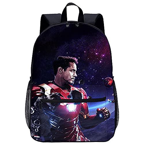 LGBCK Zaino moda bambino personalizzato Avengers 3: Infinity War Zaino scuola stampato in 3D zaino da viaggio zaino scuola borsa da scuola