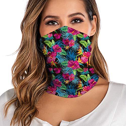 URIBAKY Multifunktionstuch Gesichtsmaske Damen Atmungsaktiv Schlauchtuch Schutzmasken,Schlauchschal Outdoor Staubschutz Fahrrad Joggen Schal Motorrad Halstuch Herren