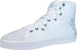 [プーマ] 4M Mix Womens Leather sneakers/Shoes - White [並行輸入品]