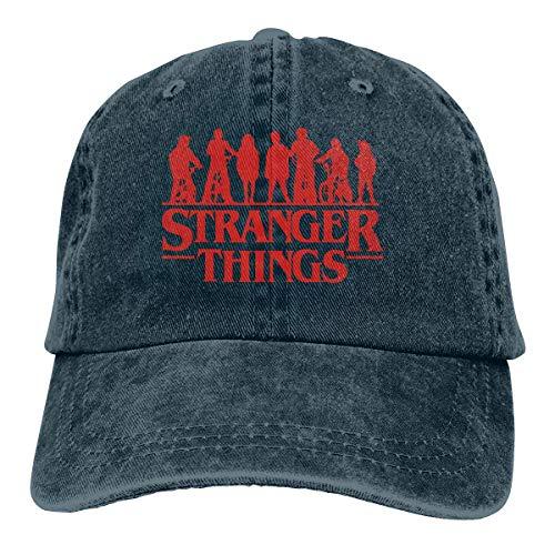 MERCHA Stranger Things 3 Kids Adult Vintage Washed Denim Adj