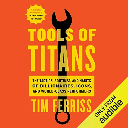 Page de couverture de Tools of Titans