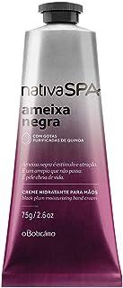 Nativa Spa Creme Desodorante Para As Mãos Ameixa Negra 75g
