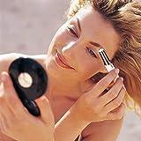 Renyke Potable Electric Eyebrow Trimmer Makeup Painless Eye Brow Epilator Mini Shaver Razors
