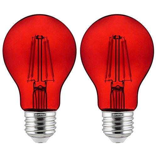 bombilla roja fabricante Sunlite