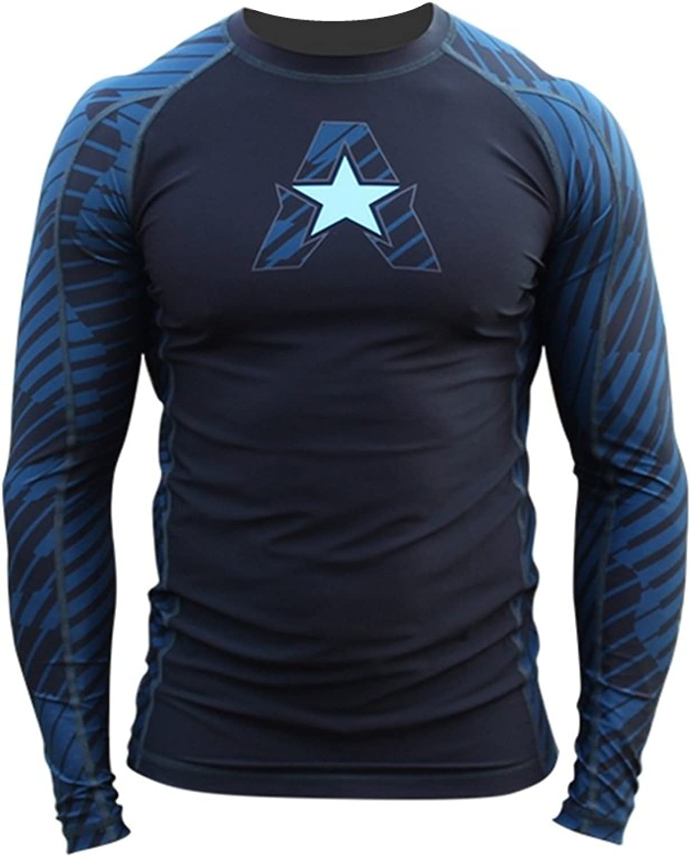 NEW  Anthem Athletics HELOX COMPETITION Ranked Long Sleeve Rash Guard Compression Shirt  BJJ (IBJJF Approved) & MMA