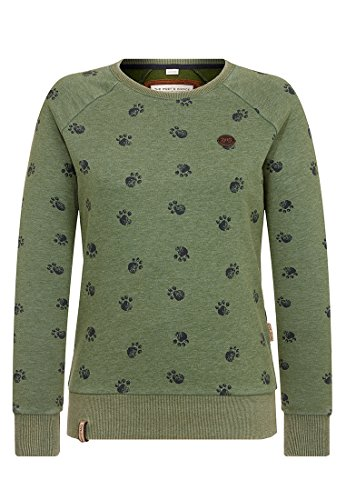 Naketano Damen Sweater Train Harder Sweater