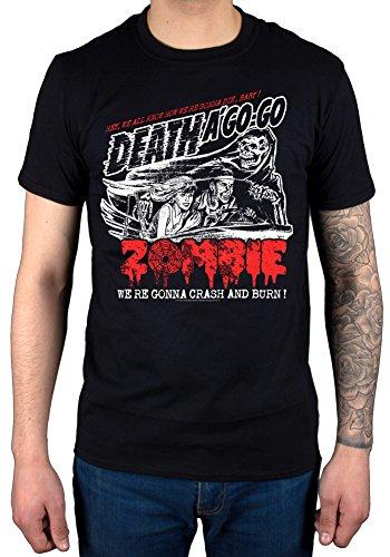 Official Rob Zombie Crash T-Shirt Crash Burn Metal Horror Rock Band