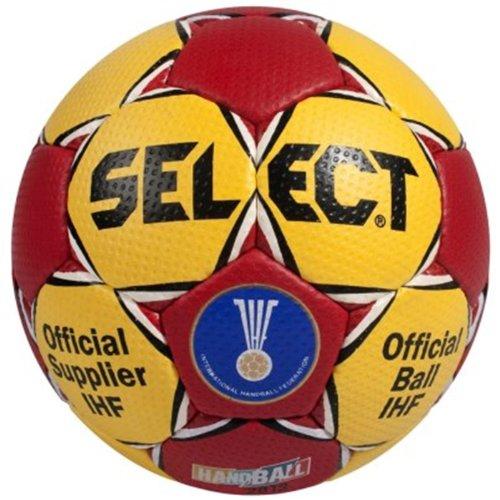 Original Select Handball 'Official IHF Men WC Spain 2013' Replica rot / gelb, Größe:1