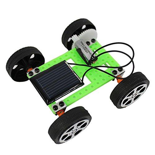 Bricolaje montar energía solar juguete coche Powered ciencia educativa Set juguetes para niños estudiantes