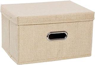 Boîte De Rangement Pour Vêtements En Tissu Grands Paniers Couverts Rabattables Boîtes De Rangement Pour Armoire Domestique...