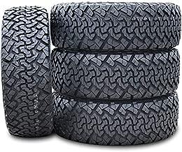 Set of 4 (FOUR) Venom Power Terra Hunter X/T All-Terrain Off-Road Light Truck Radial Tires-35X12.50R17LT 35X12.50X17 35X12.50-17 121R Load Range E LRE 10-Ply BSW Black Side Wall