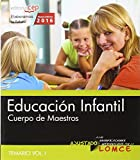 Pack de libros. Cuerpo de maestros. Educación infantil: Cuerpo de maestros. Educación infantil. Temario. Vol.I: 1 - 9788468167565
