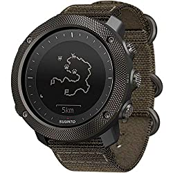 firefighter tactical smart watches for firemen and EMTs that Features a rugged, knurled stainless steel bezel, durable water repellent nylon strap, and a premium scratch resistant sapphire crystal glass Suunto's automatic shot detection technology keeps track of when and where you shoot, mapping the GPS coordinates of your location for later viewing