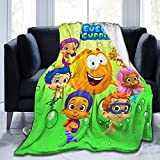 Soft Micro Fleece Blanket Plush Throws Blanket for Children Kids Boys Girls for Bed Sofa Couch Chair Car Travel Beach Lightweight for All Season Gift