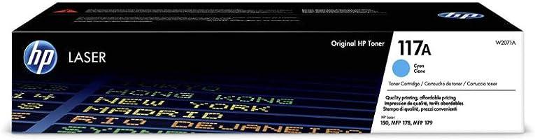 HP 117A (W2071A) Original Toner (für HP Color Laser) cyan