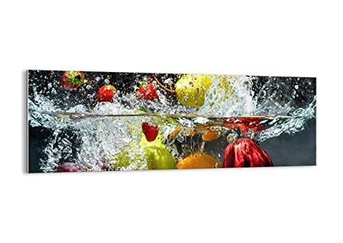ARTTOR Quadri Moderni Soggiorno - Stampe su Vetro - Home Decor - Quadri da Salotto, Cucina E Altre Stanze - Varie Dimensioni e Temi Grafici - GAB140x50-2972