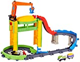 Chuggington LC54260 - Big Cantiere con Gru di carico e Koko Lok (Playset)