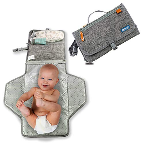 51xVg008ObL - Enovoe Portable Diaper Changing Pad