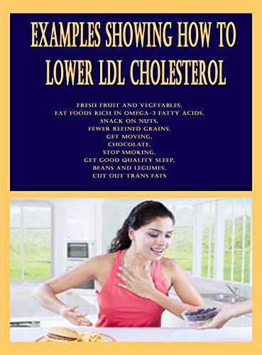 Examples Showing How to Lower LDL Cholesterol: Fresh Fruit...
