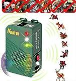 Dispositivo di protezione contro martore, dispositivo di protezione contro le martore, con luce a LED e flash a LED, per casa, garage, tetto, auto, camion, camper, officina, magazzino
