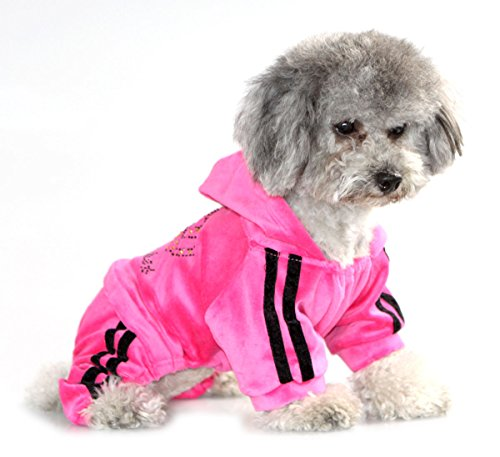 SEIMAI Dog Hoodies Jumpsuit for Small Dogs