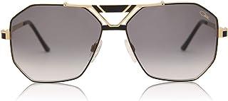 Cazal 9058 Sunglasses 001SG Black/Gold/Grey Gradient 63 mm