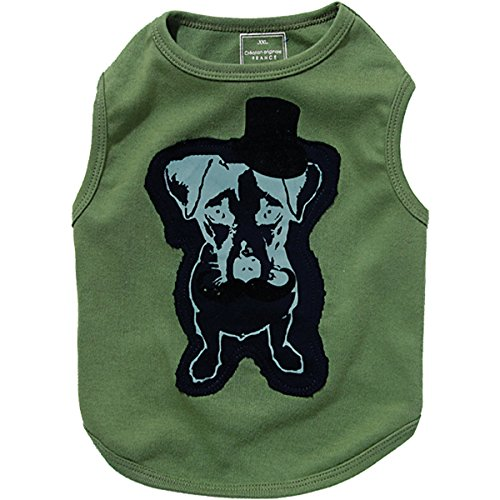 Bobby Supreme Honden T-shirt Khaki, Large, kaki