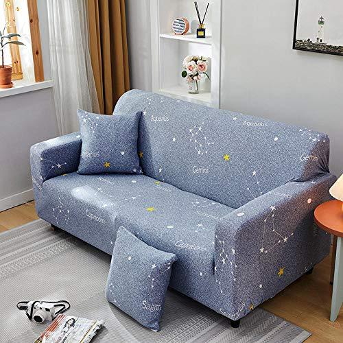 Fsogasilttlv Funda elástica para sillones 3 plazas, Fundas de sofá elásticas Impresas elásticas para sofá, Funda para sofá seccional de Esquina L