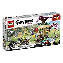 top rated LEGO Angry Birds 75823 Bird Island Egg Robbery Building Kit(277個) 2021