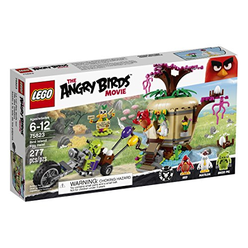 LEGO Angry Birds 75823 Bird Island Egg Heist Building Kit (277 Piece) by LEGO