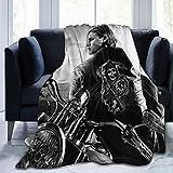 Big Big Beauty Ultra Soft Breathable Flannel Throw Blanket,50'' x40