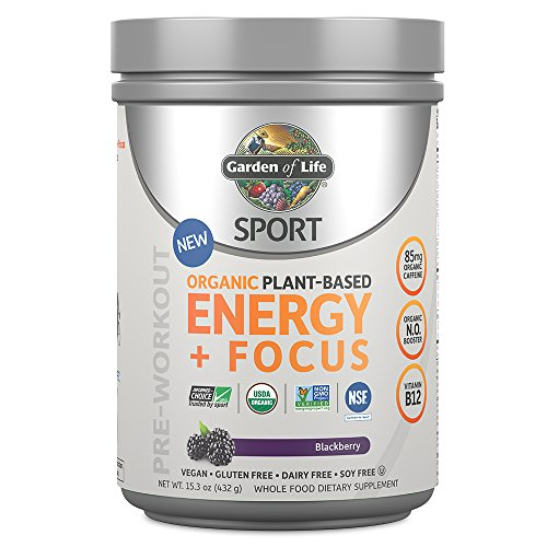 Garden of Life Sport Organic Pre Workout Energy