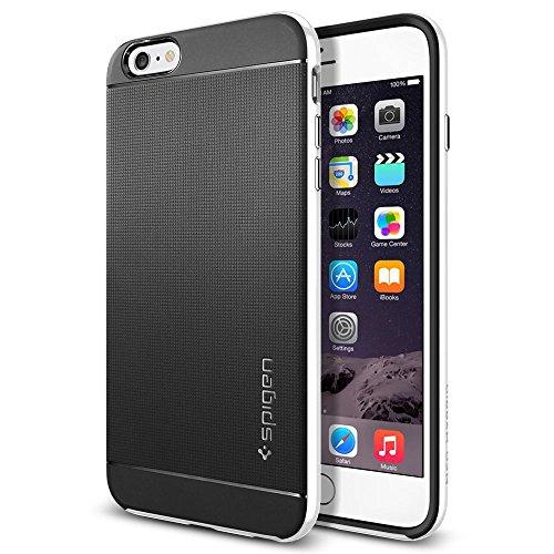 【Spigen】 iPhone 6 Plus ケース, ネオ・ハイブリッド [ 二重構造 スリム フィット ] アイフォン 6S プラス 用 米軍MIL規格取得 (インフィニティ・ホワイト SGP11257)