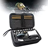 WXking Gun Cleaning Kit,Gun Accessories,Cleaning Tools 10 Copper Wire Brush Heads (12ga, 20/28, 410.30.27.22.45/.44.40, 357/38/9.17) with Portable Case 26 Piece Set