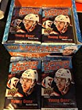 Lot of 4 Factory Sealed Retail Packs of 2020-2021 Upper Deck Hockey Chance for Young Guns Canvas, Memorabilia Cards. Very unlikely to get a Young Guns rookie... rookie card picture
