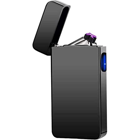 Rechargeable Double ARC Flameless Plasma WINDPROOF ELECTRIC USB LIGHTER GIFT