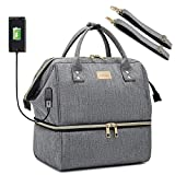 Weitars Large Lunch Bag Insulated Lunch Box For Men Women, Thermal Lunch Tote Bag,Wide-Open Tote...