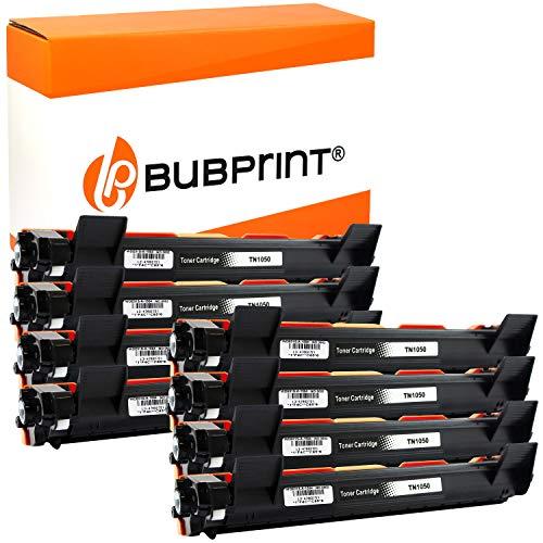 Bubprint Kompatibel XXL Toner als Ersatz für Brother TN-1050 DCP-1510 DCP-1510E DCP-1512 E DCP-1610W DCP-1612W HL-1110 HL-1110E HL-1112 HL-1210W HL-1211W HL-1212W MFC-1810 MFC-1910W Schwarz 8er-Pack