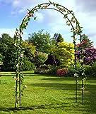 MTB Decorative Metal Garden Arbor, Wedding Arch Party Ceremony Decoration Climbing Plant Support Trellis Arch Arbor Trellis Pergola Arbor