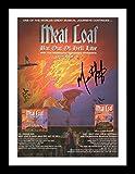 Meat Loaf Autogramme Signiert Und Gerahmt Foto